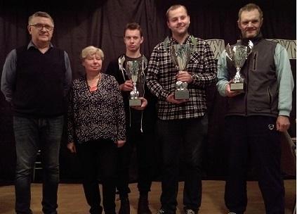 Komplet zwycięstw Grzegorza Łukasika wMistrzostwach Mazowsza