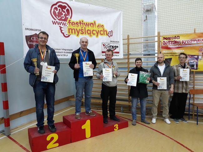 """Marek Rogalski najlepszy wśród """"myślących"""""""