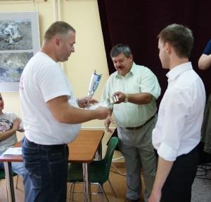 Stanisław Rydzik pierwszym Mistrzem Ełku wScrabble!!!