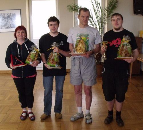 Dawid Pikul zwyciężył wIII Mistrzostwach Łomży wScrabble