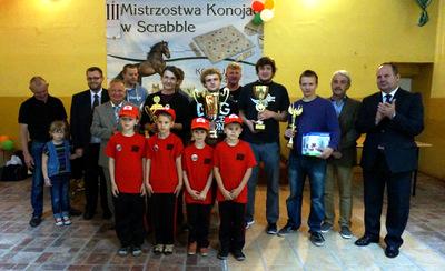 Michał Alabrudziński najlepszy wIII Mistrzostwach Konojad wScrabble