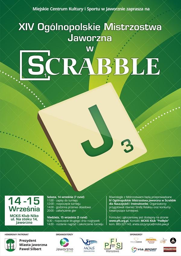 Polska Federacja Scrabble Xiv Ogólnopolskie Mistrzostwa